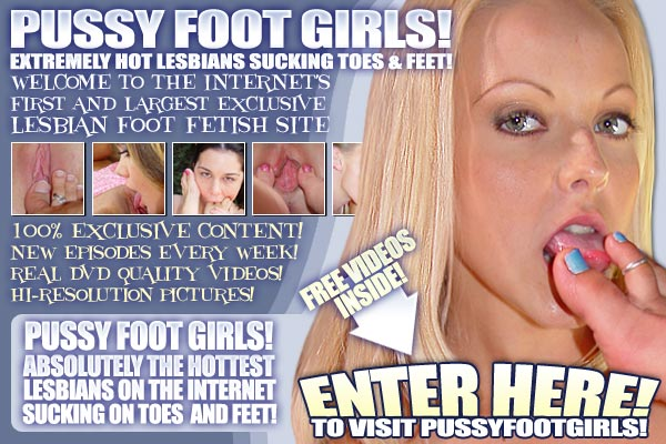 PUSSYFOOTGIRLS spread crotch with toes rubbing